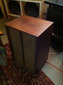 One Pair of Vintage Electro Voice E V Marquis Loudspeakers in Beautiful Walnut