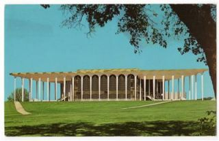 Tulsa Oklahoma c1970 Oral Roberts University Learning Resources Center