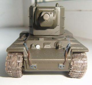1 72 KV 2 Soviet Tank WWII Die Cast Model 11 Magazine Fabbri Russian
