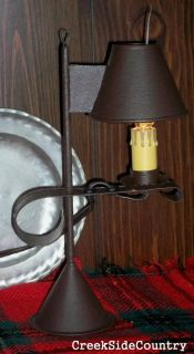 Primitive Early Lighting Accent Candle Jefferson Lamp