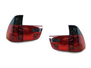 USA Plug Play 2000 06 BMW E53 x5 Red Smoke Rear Tail Light Lamp 4pcs Bulbs