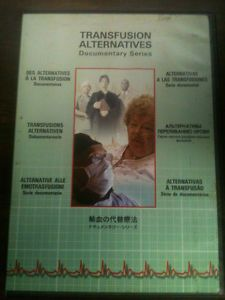 Transfusion Alternatives Documentary Series DVD 8 Languages Healthy Blood