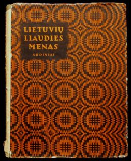 Book Lithuanian Folk Art Textile Weaving Ethnic Costume
