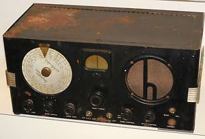 Vtg Art Deco Hallicrafters s 22 Skyrider Marine Communication Radio Receiver