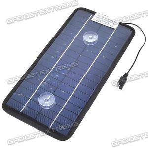 8W 18V 450mA Polysilicon Battery Charger Solar Power Panel for Car Laptop GE