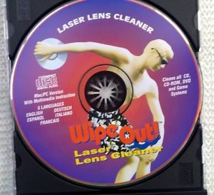 Laser Lens Cleaner Cleaning CD DVD Bluray Xbox Game ROM PS2 Wii New
