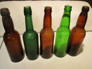 B902 Bottle Vintage Beer Ale Antique Lot Collection
