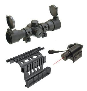 "UAG ""CQB"" Red Green Dot Scope Laser Mount for Saiga 7S"