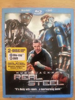 Real Steel Blu Ray Only