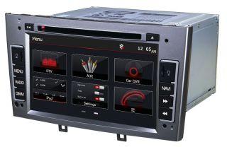 Autoradio DVD GPS Navi Bluetooth iPod Radio SAT Nav Player Peugeot 308 408