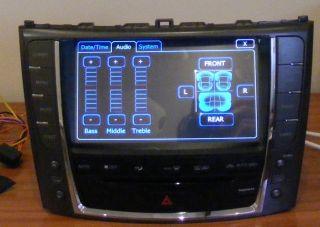 Autoradio DVD GPS Navi SAT Nav Bluetooth iPod Player Lexus IS250 IS300 Is350