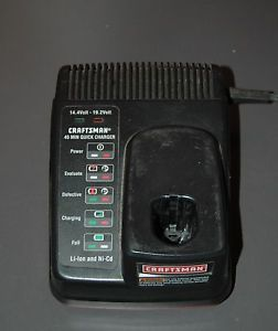 Craftsman 19 2 Volts C3 Series Lithium NiCd Quick Battery Charger