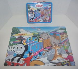 """Thomas Friends """"Circus Train"""" Puzzle and Metal Carry Case by Ravensburger"""