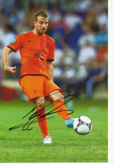 Rafael Van Der Vaart Holland Nationalteam Foto Mit Unterschrift 144846 Mik