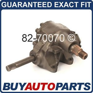 Jeep Wrangler Cherokee Manual Steering Gearbox Gear Box