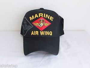 USMC Marine Air Wing Maw Military Ball Cap Marine Corps Hat