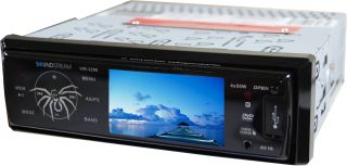 Soundstream Vir 3200 3YR Waranty New Car Stereo CD  DVD Player Radio VIR3200