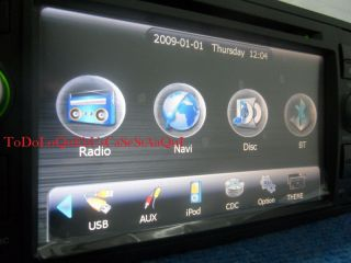 2 DIN DVD GPS Radio USB SD Para Ford Focus s C Max