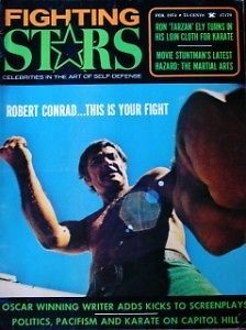 2 74 Fighting Stars Robert Conrad James West Jim Kelly Karate Martial Arts
