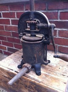 Antique Enterprise Sausage Stuffer Press Small 2 Quart