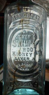 Medicine Bottle Dr Kilmers Swamp Root Kidney Liver Bladder Cure Specific