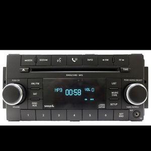Daimler Dodge Chrysler Uconnect Radio  CD Player Satellite Sirius Aux