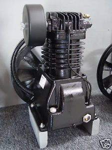 7 5 HP Two Stage Cast Iron Air Compressor Pump 30 CFM