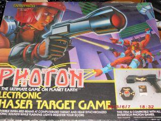 Photon Electronic Phaser Target Game Entertech Laser Tag Gun