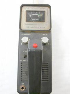 Micronta 4001 Discriminator Metal Detector Radio Shack