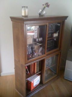 Two Paine Furniture Company Barrister Bookcases Boston
