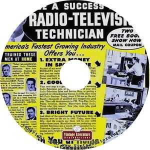 Vintage Radio TV Repair Course Fix Resell Start Your Own Business on CD