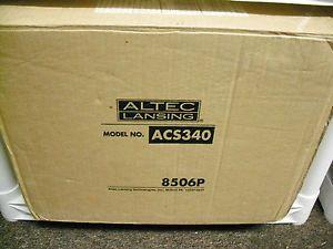 Altec Lansing Computer Speakers ACS340