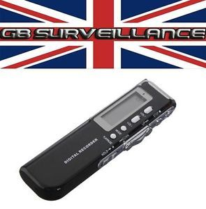 New 8GB Digital Voice Recorder 650Hr EVP Ghost Hunter Dictaphone USB Flash Phone