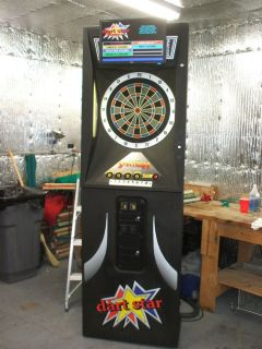 Medalist Spectrum Electronic Dart Board with LCD Screen Lets Play Darts