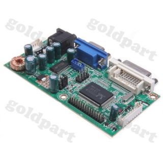 1pc GM5621 DVI VGA Interface Universal LVDS LCD Display Driver Controller Board