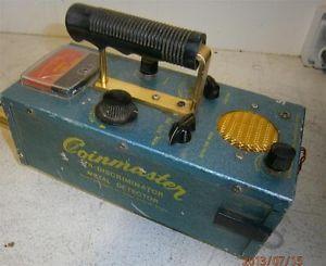 Vintage White's Coinmaster Metal Detector TR Discriminator