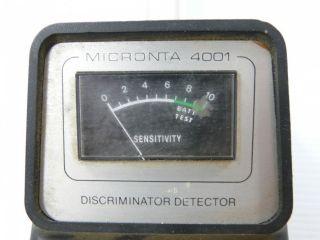 Details about Micronta 4001 Discriminator Metal Detector Radio Shack