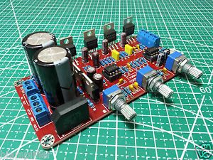 Channels LM1875 NE5532 Audio Power Amplifier Board 25Wx2+50W(Sub