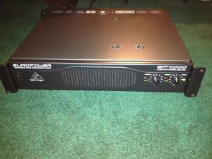 EuroPower EP4000 2 Channel Power Amplifier Used in excellent condition