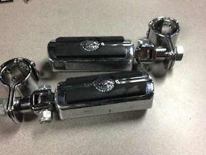 Harley Davidson Highway Pegs with Mounts with Skull Pegs