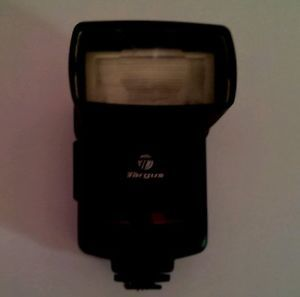 Nikon Cannon Compatible Targus Digital TG DL80N Shoe Mount Flash for Nikon