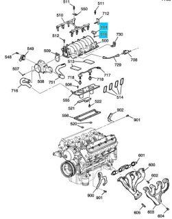 Genuine GM LS1 LS6 Mass Air Flow Sensor New UK Stock 12614970