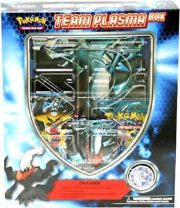 Pokemon Team Plasma Box Collection with Giratina Darkrai Full Art Promo Cards