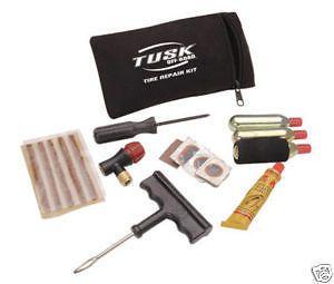 "Tusk Tire Repair Kit Motorcycle ATV UTV ""CO2 Fill"""