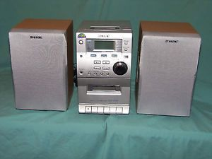 Sony CMT EP30 Micro Shelf Hi Fi Component System CD Cassette Player Am FM Radio