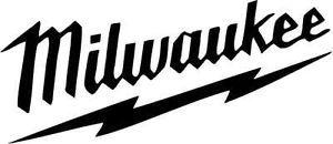 Milwaukee Tools Vinyl Decal Bumper Window Sticker Power Tool Garage Toolbox