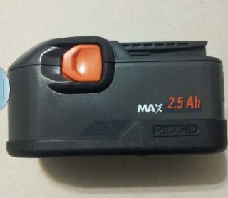 ★★ Brand New ★★ Ridgid 130254007 18V Ni CAD Max 2 5 AH Battery
