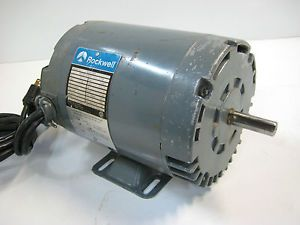 Rockwell Delta 1 HP 3450 RPM Electric Motor Table Saw or Other Power Tools