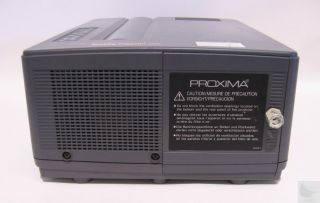 Proxima DP5500 LCD Multimedia Desktop Projector