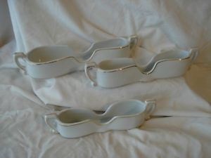 Noritake Porcelain 3 Flatware Cutlery Silverware Holders Buffet Servers Caddy